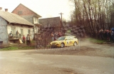 08. Holger Helle i Per Dangaard Jensen - Ford Escort Cosworth RS
