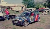 04. Fiat Cinquecento Abarth załogi Jacek Sikora i Marek Kaczmare