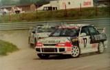 19. Leszek Kuzaj - Mitsubishi Lancer Evo.