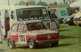 03. Polski Fiat 126p Andrzeja Stachurskiego po dachowaniu.