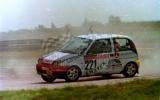 12. Włodzimierz Pawluczuk - Fiat Cinquecento Abarth.
