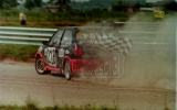 18. Robert Polak - Ford Fiesta XR2i.