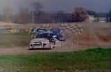 18. Leszek Kuzaj - Mitsubishi Lancer Evo.