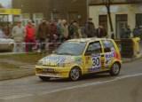 1. Tomasz Oleksiak i Wojciech Białowąs - Fiat Cinquecento Sporti