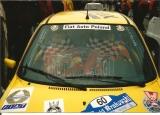 16. Jacek Sikora i Marek Kaczmarek - Fiat Cinquecento Sporting.