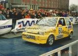 17. Jacek Sikora i Marek Kaczmarek - Fiat Cinquecento Sporting.