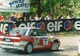 04. Leszek Kuzaj i Artur Skorupa - Mitsubishi Lancer Evo III.