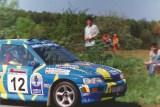 17. Krzysztof Tercjak i Krzysztof Wolarz - Ford Escort Cosworth