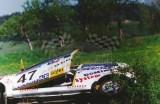 21. Marcin Turski i Jacek Sciciński - Fiat Cinquecento Sporting.
