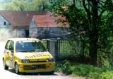24. Jacek Sikora i Marek Kaczmarek - Fiat Cinquecento Sporting.
