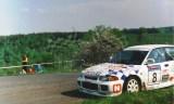 25. Jarosław Pineles i Maciej Wodniak - Mitsubishi Lancer Evo II