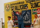 091. Zwycięzcy klasy 2 - Paweł Kałuża, Antoni Skudło i Piotr Rad