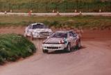 107. Nr.2.Adam Polak, nr.1.Leszek Kuzaj - Toyoty Celica GT4.