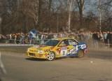 043. Bartłomiej Baniowski i Piotr Wieczorek - Subaru Impreza WRX