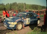 01. Janusz Kulig i Jarosław Baran - Renault Megane Maxi.
