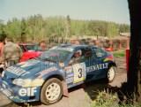 02. Janusz Kulig i Jarosław Baran - Renault Megane Maxi.