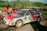 03. Piotr Świeboda i Artur Skorupa - Mitsubishi Lancer Evo IV