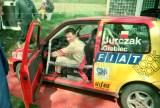 07. Damian Jurczak i Marek Grabiec - Fiat Cinquecento Sporting.