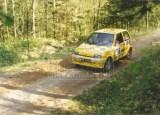 13. Jacek Sikora i Marek Kaczmarek - Fiat Cinquecento Sporting