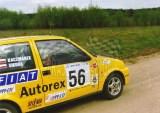 16. Jacek Sikora i Marek Kaczmarek - Fiat Cinquecento Sporting