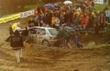13. Tomasz Gutkowski i Marek Bała - Peugeot 106 Rally..JPG