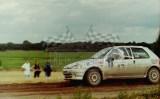 24. Andrzej Spława Neyman i Paweł Żak - Peugeot 106 Rally. .JPG