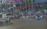 12. Janusz Damentko - VW Scirocco, Jakub Iwanek - Peugeot 205 Gt