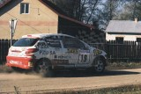 038. Piotr Adamus i Magdalena Zacharko - Peugeot 206 XS.