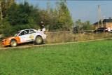 040. Leszek Kuzaj i Magdalena Lukas - Subaru Impreza WRC.