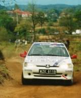 05. Michał Nowosiadły i Marek Bała - Peugeot 106 Rally.