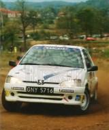 07. Jacek Sikora i Marcjanna Grenda - Peugeot 106 Rally.