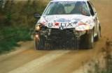 11. Krzysztof Koczur i Ryszard Ciupka - Peugeot 106 Rally.