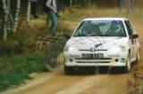 15. Jacek Sikora i Marcjanna Grenda - Peugeot 106 Rally.