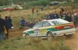 19. Lech Koraszewski i Grzegorz Dudek - Audi Coupe S2.