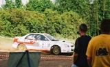 16. Krzysztof Hołowczyc i Łukasz Kurzeja - Subaru Impreza STi N1