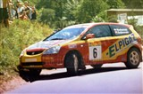 04. Stefanicki i Paweł Sujkowski - Honda Civic Type-R.