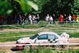 10. Tomasz Kuchar i Krzysztof Gęborys - Mitsubishi Lancer Evo VI