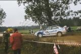 12. Piotr Maciejewski i Piotr Kowalski - Mitsubishi Lancer Evo V