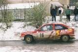 14. Tomasz Ziarko i Jakub Nagabło - Opel Kadett GSi.