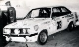 09. Alois Kridel, Lindel i Dunkel - Ford Escort RS 2000.