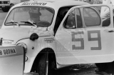 012. Andrzej Mordzewski - Fiat Abarth 850.