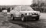 007. Horst Rausch i Jerzy Sypniewski - BMW 320i.