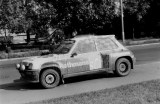001. Treningowe Renault 5 Turbo Attili Ferjancza.