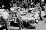 018. Ostatnie przygotowania Renaulta 11 Turbo Błażeja Krupy i Eu