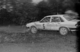 05. Andrzej Witkowicz i Andrzej Turczyński - Audi 80 Quattro.