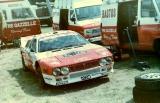 020. Lancia Rally 037 Włocha Mauro Pregliasco.