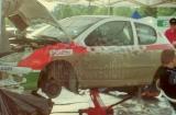 15. Kamil Skora i Marek Kaczmarek Peugeot 206 XS.