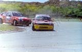 019. Adam Kornacki - Peugeot 205 i B.Skutkiewicz - Opel Kadett.