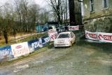 42. Marcin Majcher i Daniel Leśniak - Peugeot 106 Rallye.