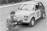 2. Dariusz Sobecki i Marek Kaczmarek - Polski Fiat 126p.